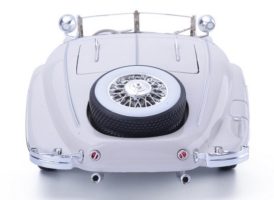 โมเดลรถ โมเดลรถเหล็ก โมเดลรถยนต์ Benz 500K white 5