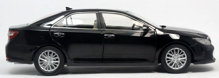 โมเดลรถ โมเดลรถเหล็ก โมเดลรถยนต์ toyota camry 2015 black 3