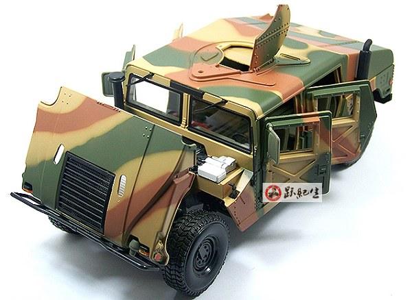โมเดลรถ โมเดลรถเหล็ก โมเดลรถยนต์ Hummer military 4