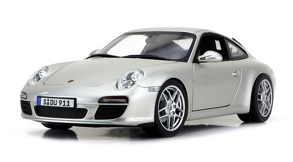 โมเดลรถ โมเดลรถเหล็ก โมเดลรถยนต์ Porsche 911 carrera S 1