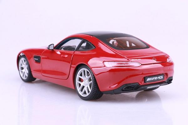 โมเดลรถ โมเดลรถเหล็ก โมเดลรถยนต์ Benz AMG GT red 4