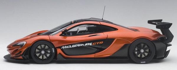 โมเดลรถ โมเดลรถยนต์ โมเดลรถเหล็ก Autoart Mclaren P1 GTR 3
