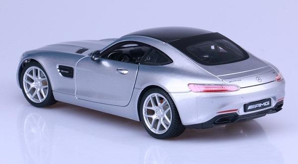 โมเดลรถ โมเดลรถเหล็ก โมเดลรถยนต์ Benz AMG GT silver 3
