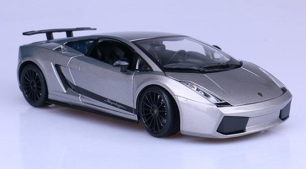 โมเดลรถ โมเดลรถเหล็ก โมเดลรถยนต์ Lamborghini gallardo superleggera 1