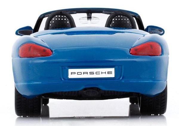 โมเดลรถ โมเดลรถยนต์ โมเดลรถเหล็ก porsche boxster blue 5