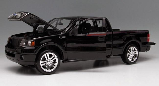 โมเดลรถ โมเดลรถเหล็ก โมเดลรถยนต์ Ford F-150 black 4