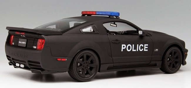 โมเดลรถ โมเดลรถเหล็ก โมเดลรถยนต์ Ford Police S281 2