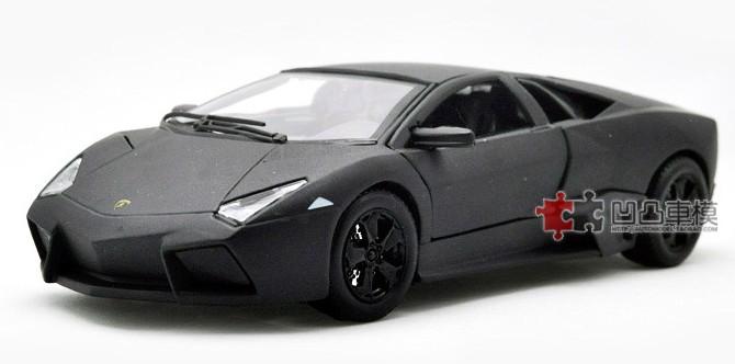โมเดลรถ โมเดลรถเหล็ก โมเดลรถยนต์ lamborghini reventon black 1