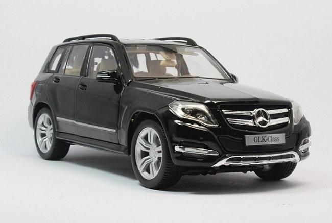 โมเดลรถ โมเดลรถเหล็ก โมเดลรถยนต์ Benz GLK 300 black 1