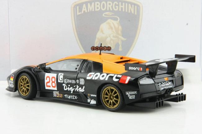 โมเดลรถ โมเดลรถยนต์ โมเดลรถเหล็ก Lamborghini LP670-4 #22 4