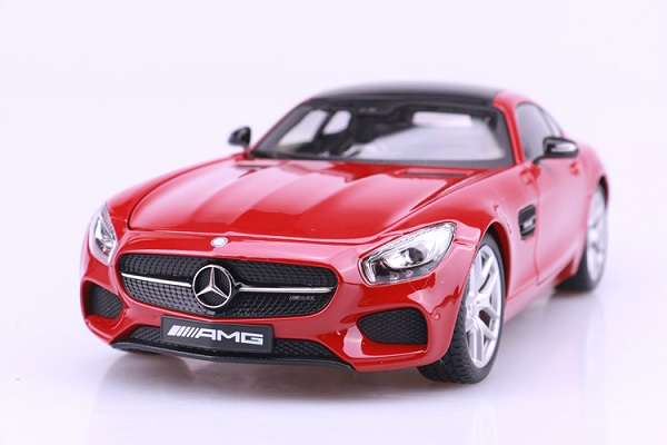 โมเดลรถ โมเดลรถเหล็ก โมเดลรถยนต์ Benz AMG GT red 2