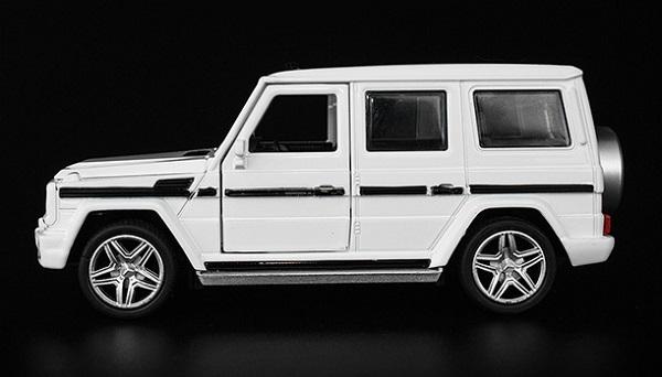 โมเดลรถเหล็ก โมเดลรถยนต์ Benz G65 5