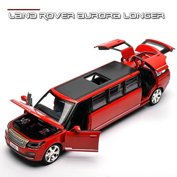 โมเดลรถเหล็ก โมเดลรถยนต์ Land Rover รถยาว 1