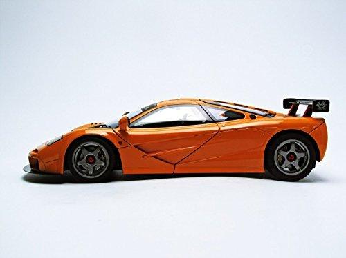 โมเดลรถ โมเดลรถยนต์ โมเดลรถเหล็ก mclaren f1 lm orange 5