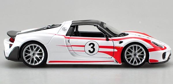 โมเดลรถ โมเดลรถยนต์ โมเดลรถเหล็ก porsche 918 racing 2