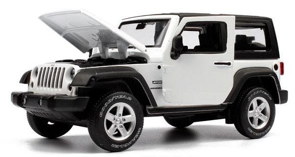 โมเดลรถเหล็ก โมเดลรถยนต์ Jeep Wrangler 3