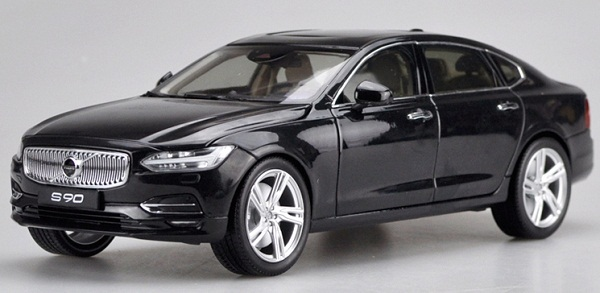 โมเดลรถ โมเดลรถเหล็ก โมเดลรถยนต์ Volvo S90 black 1