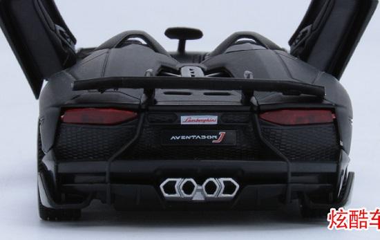 โมเดลรถเหล็ก โมเดลรถยนต์ Lamborghini Aventador J 5