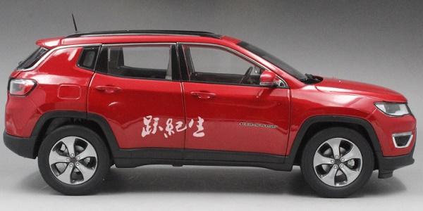 โมเดลรถ โมเดลรถเหล็ก โมเดลรถยนต์ Jeep Compass red 3