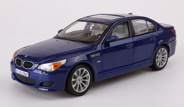 โมเดลรถ โมเดลรถเหล็ก โมเดลรถยนต์ BMW M5 blue 2