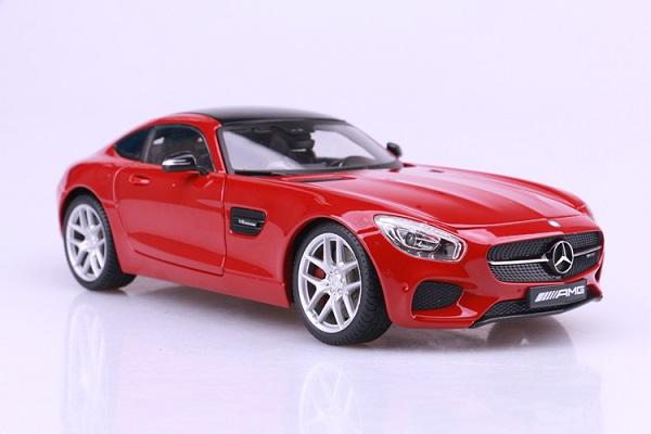 โมเดลรถ โมเดลรถเหล็ก โมเดลรถยนต์ Benz AMG GT red 1