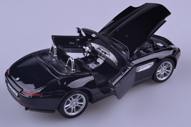 โมเดลรถ โมเดลรถเหล็ก โมเดลรถยนต์ BMW Z8 black 5