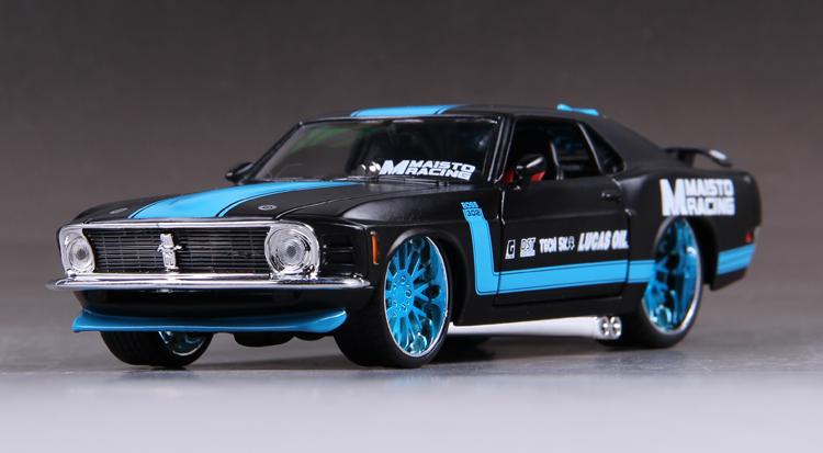 โมเดลรถ รถเหล็ก โมเดลรถเหล็ก โมเดลรถยนต์ Ford Mustang 1967 1