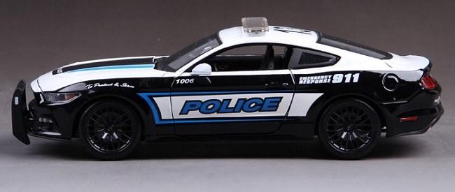 โมเดลรถ โมเดลรถเหล็ก โมเดลรถยนต์ Ford Police 911 5