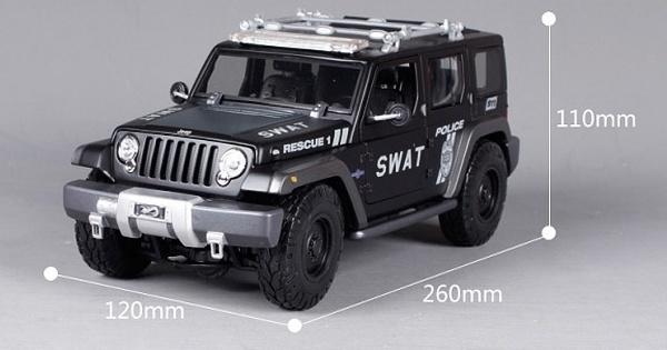 โมเดลรถ โมเดลรถเหล็ก โมเดลรถยนต์ Jeep Swat 1