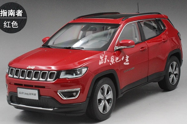 โมเดลรถ โมเดลรถเหล็ก โมเดลรถยนต์ Jeep Compass red 1