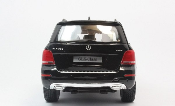 โมเดลรถ โมเดลรถเหล็ก โมเดลรถยนต์ Benz GLK 300 black 6