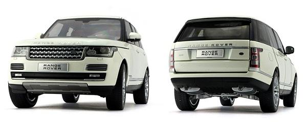 โมเดลรถ โมเดลรถเหล็ก โมเดลรถยนต์ Land Rover Aurora white 4