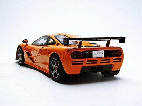 โมเดลรถ โมเดลรถยนต์ โมเดลรถเหล็ก mclaren f1 lm orange 4