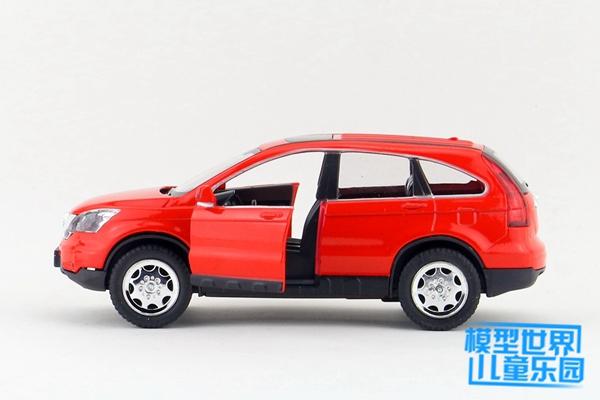 โมเดลรถเหล็ก โมเดลรถยนต์ honda crv red 3