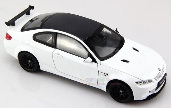โมเดลรถ โมเดลรถเหล็ก โมเดลรถยนต์ BMW M3 GTS white 1