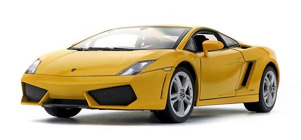 โมเดลรถ โมเดลรถยนต์ โมเดลรถเหล็ก Gallardo 560-4 เหลือง 1
