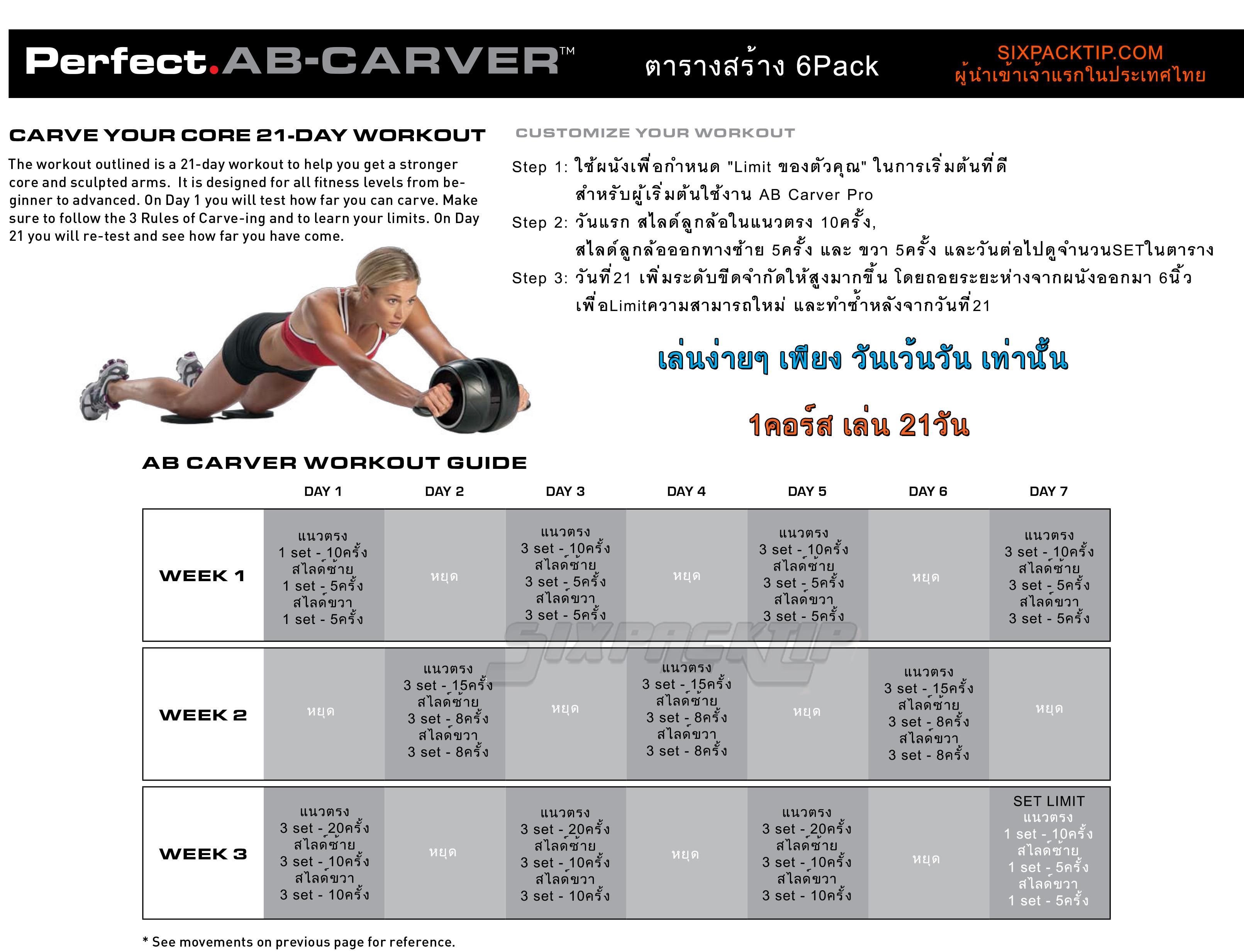 Ab Carver Workout Pdf | Sport Fatare