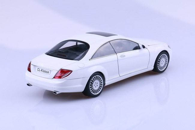 โมเดลรถ โมเดลรถเหล็ก โมเดลรถยนต์ Benz CL Class White 3