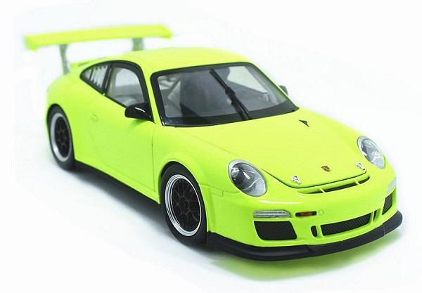 โมเดลรถ โมเดลรถเหล็ก โมเดลรถยนต์ Porsche 911 gt3 green 1