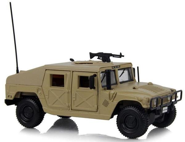 โมเดลรถเหล็ก โมเดลรถยนต์ Humvee 1