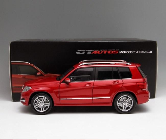 โมเดลรถ โมเดลรถเหล็ก โมเดลรถยนต์ Benz GLK 300 red 3