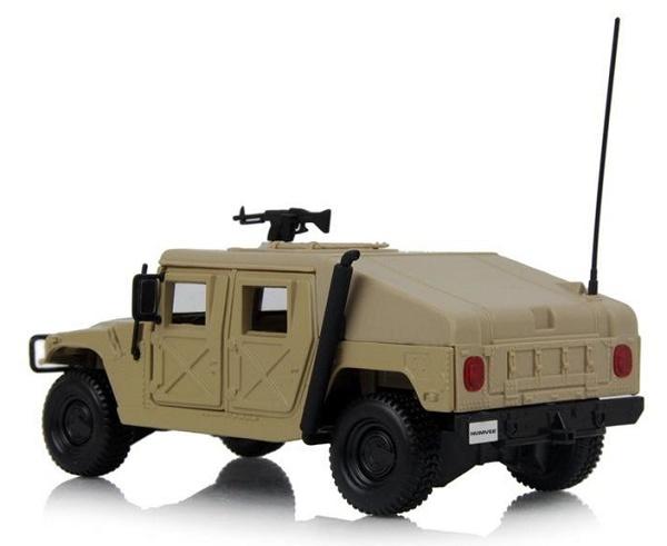 โมเดลรถเหล็ก โมเดลรถยนต์ Humvee 3