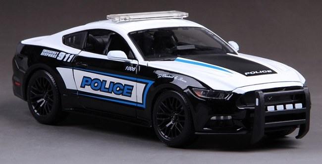 โมเดลรถ โมเดลรถเหล็ก โมเดลรถยนต์ Ford Police 911 2
