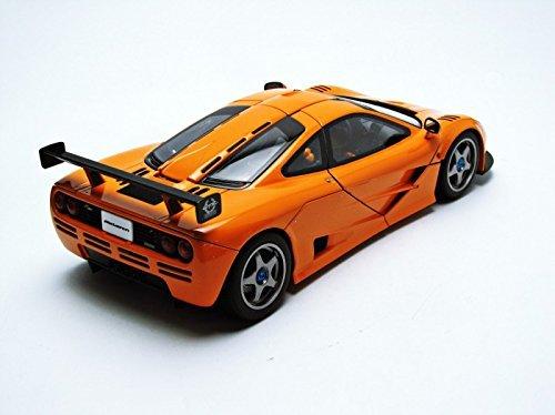 โมเดลรถ โมเดลรถยนต์ โมเดลรถเหล็ก mclaren f1 lm orange 3