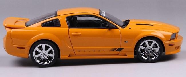 โมเดลรถ โมเดลรถเหล็ก โมเดลรถยนต์ Ford Saleen S281 orange 5