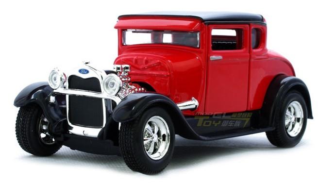 โมเดลรถ รถเหล็ก โมเดลรถเหล็ก โมเดลรถยนต์ Ford Mustang Model A 1