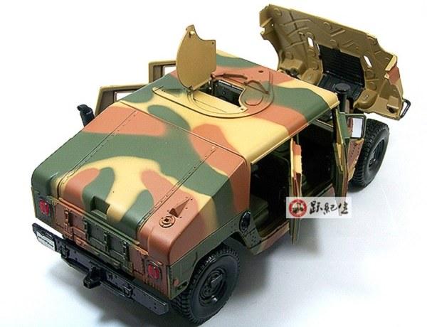 โมเดลรถ โมเดลรถเหล็ก โมเดลรถยนต์ Hummer military 5