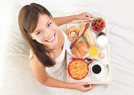 อาหารเช้าลดน้ำหนัก