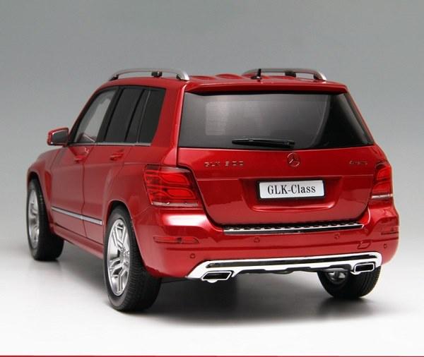 โมเดลรถ โมเดลรถเหล็ก โมเดลรถยนต์ Benz GLK 300 red 5