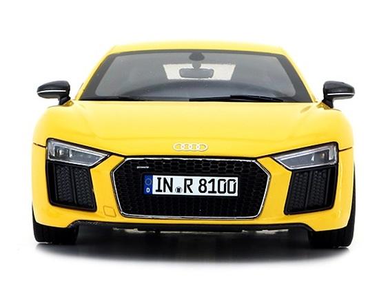 โมเดลรถ โมเดลรถเหล็ก โมเดลรถยนต์ Audi R8 V10 coupe yellow 4